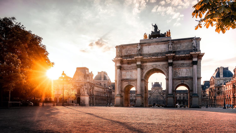 Arc de Triomphe du Carrousel Paris Louvre
