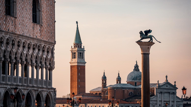 Skyline Venedig Sankt Markusplatz