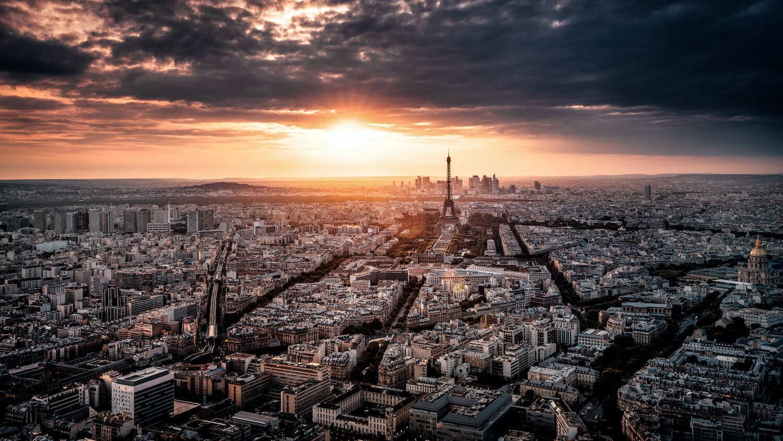 Skyline Paris Sonnenuntergang Tour Montparnasse