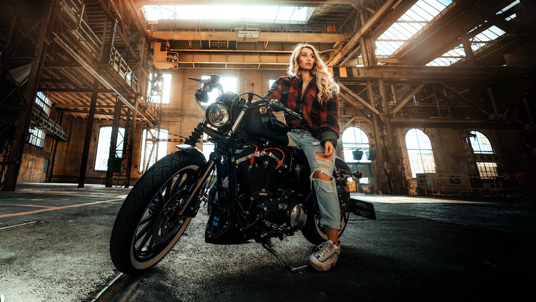 Themen Shooting Harley Davidson in Winterthur