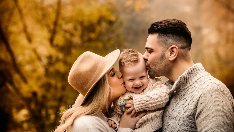Familienbilder mit der Familie Maric im Herbst