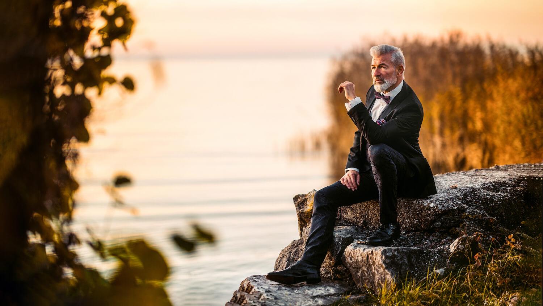Einzelshooting Business mit Marc im Herbst am Bodensee