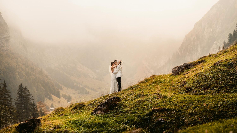Hochzeitsfotograf im Appenzellerland mit Ljubo und Danica