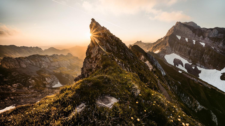Rotsteinpass Sonnenaufgang