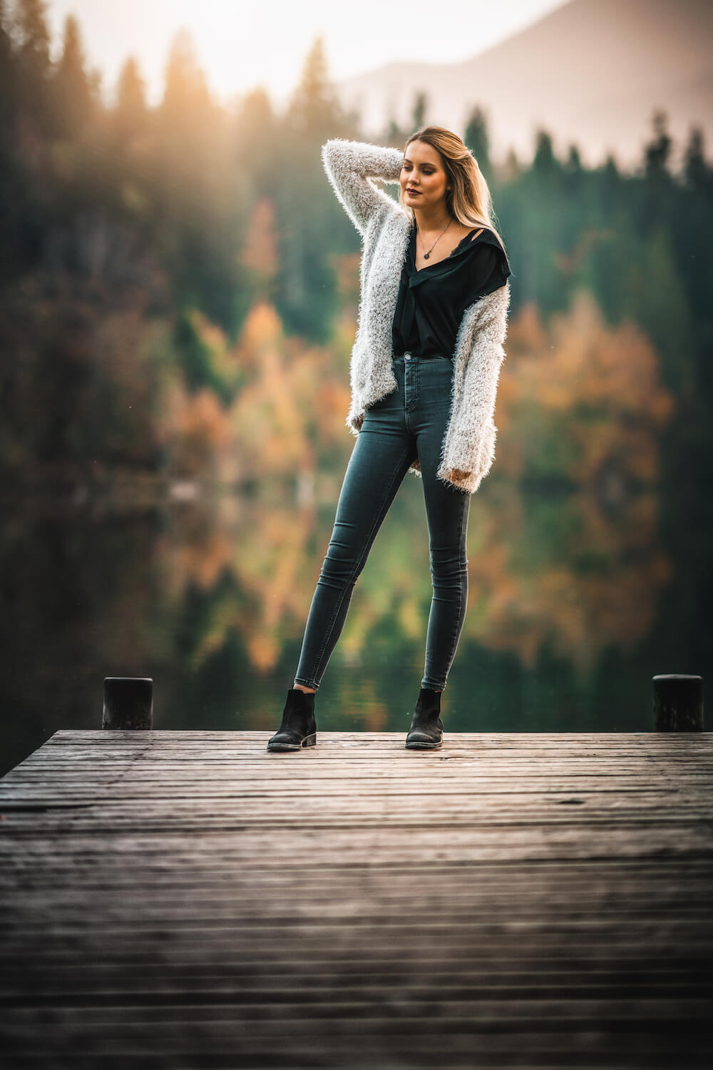 4one Foto-Shooting Fotografie Crestasee Herbst Model 1