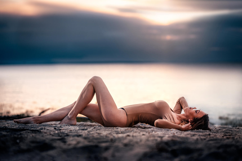 4one Foto-Shooting Fotografie Rohrspitz Vorarlberg Frau Bikini 2