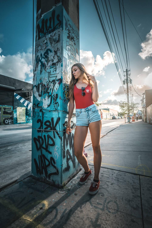 4one Foto-Shooting Fotografie Frau Miami Wynwood 2